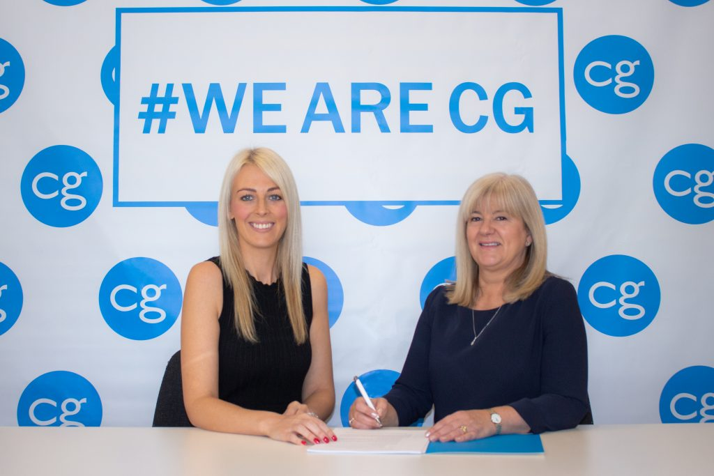 Jane Haymes Signs For CG